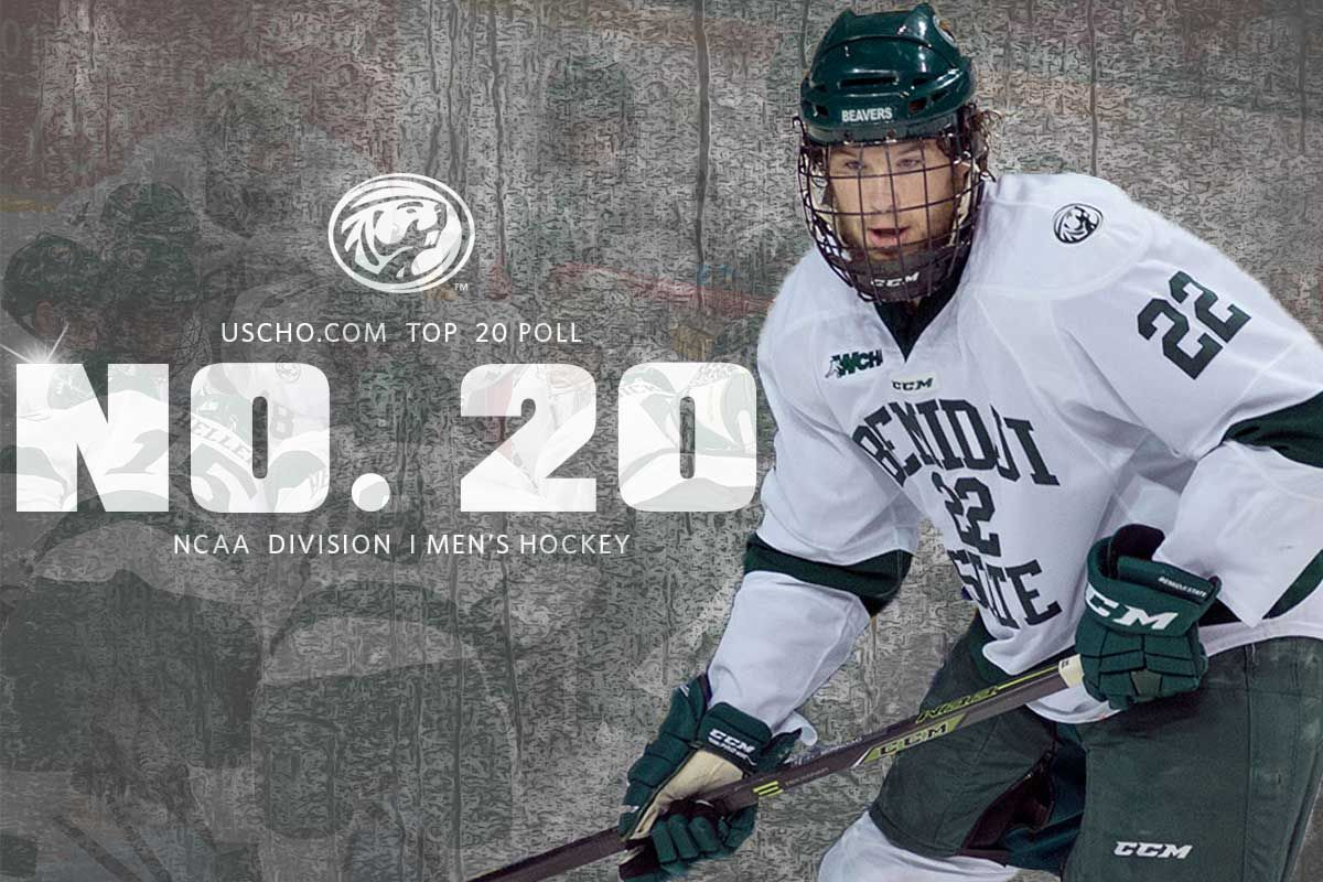 BSU Men's Hockey remains among the nation's top 20