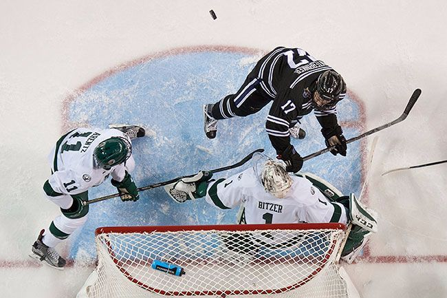 No. 15 Bemidji State travels to No 11 Minnesota State in battle for WCHA bragging rights