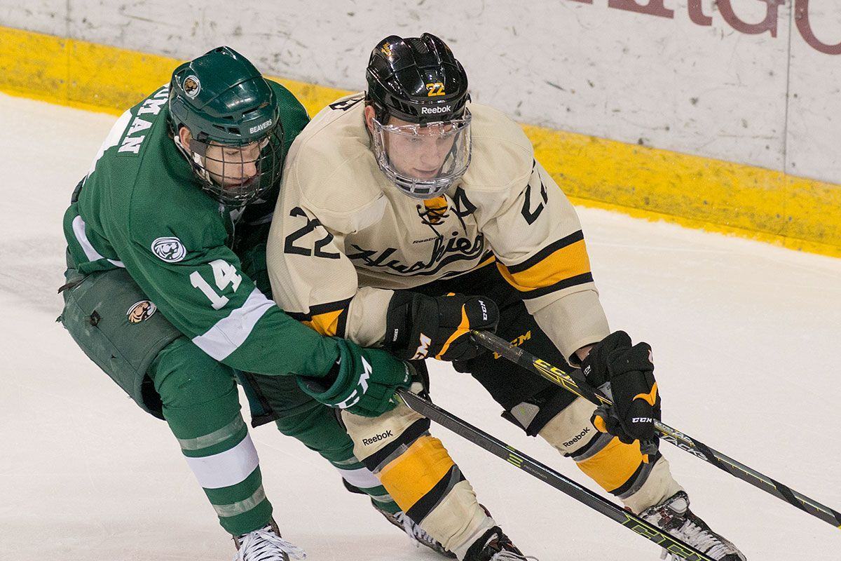 Beavers and Huskies battle for first place