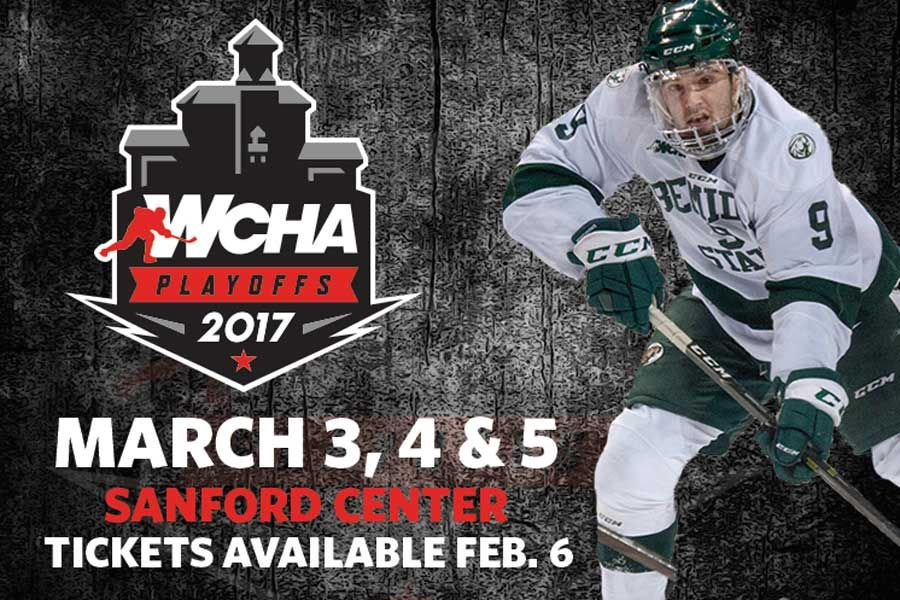 Tickets for Bemidji State first-round WCHA playoff series on sale today