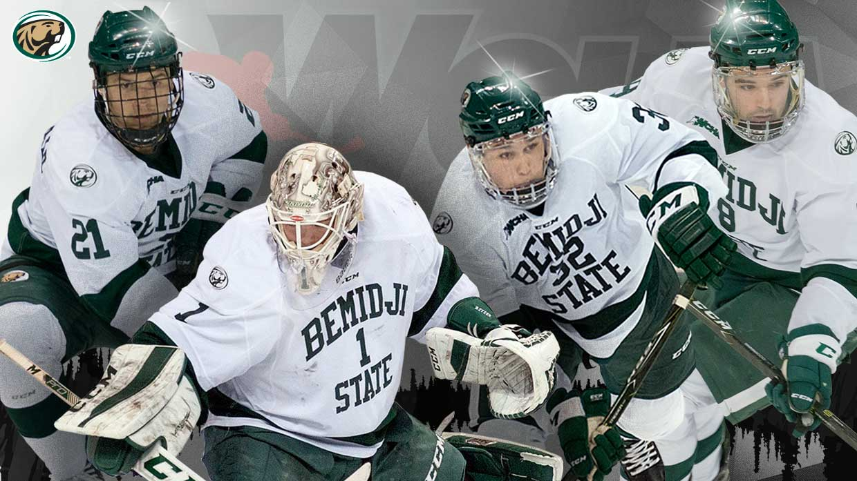 Bitzer, Fitzgerald, Marinaccio and Whitecloud named to All-WCHA teams