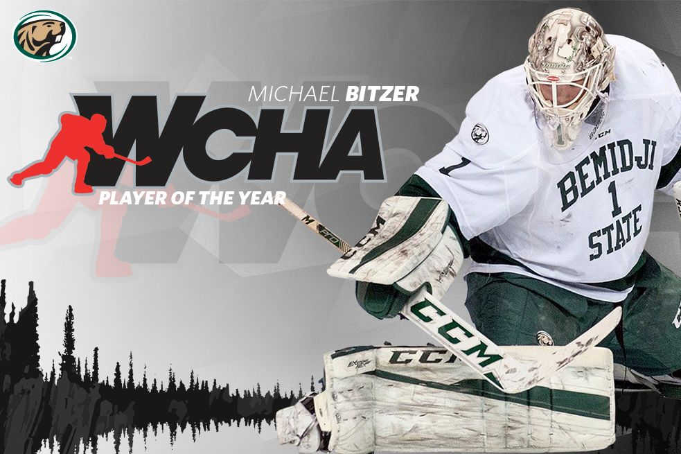 Bemidji State's Bitzer named WCHA Player of the Year
