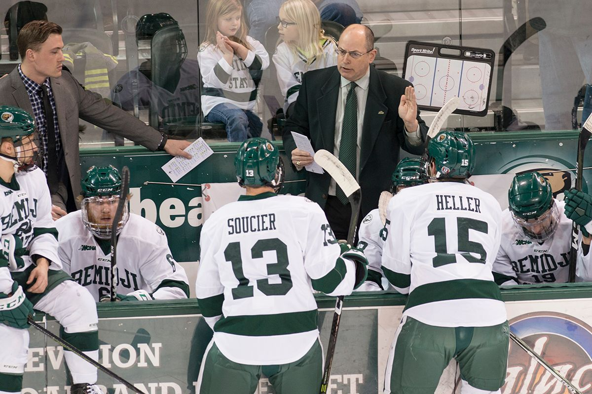 ACHA names Serratore a finalist for national coach of the year