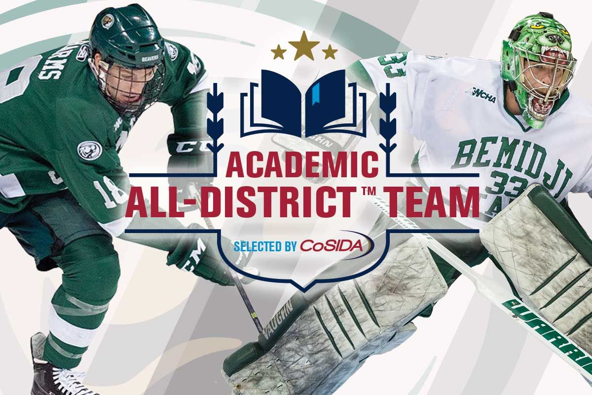 Bemidji State's Harms and Mimmack earn Academic All-District nods