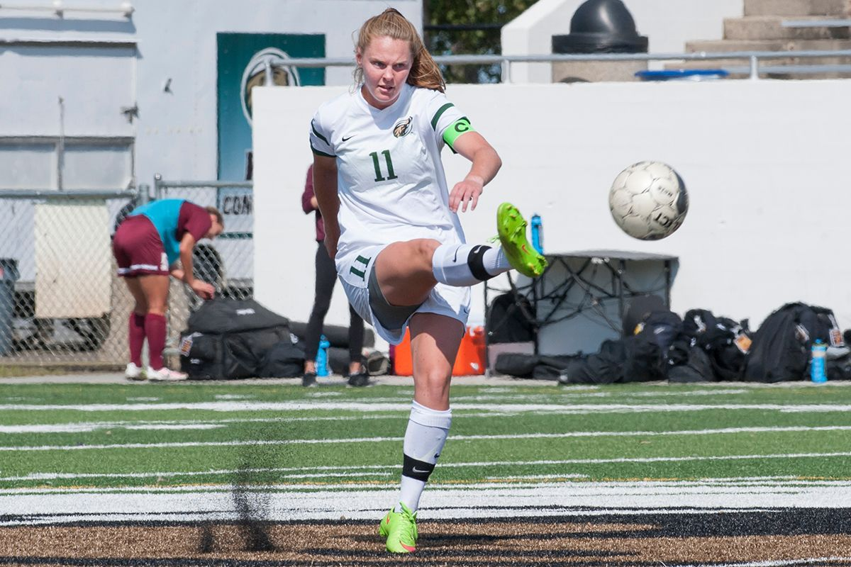 Famestad's two goals helped lead the Beavers over Northern Michigan