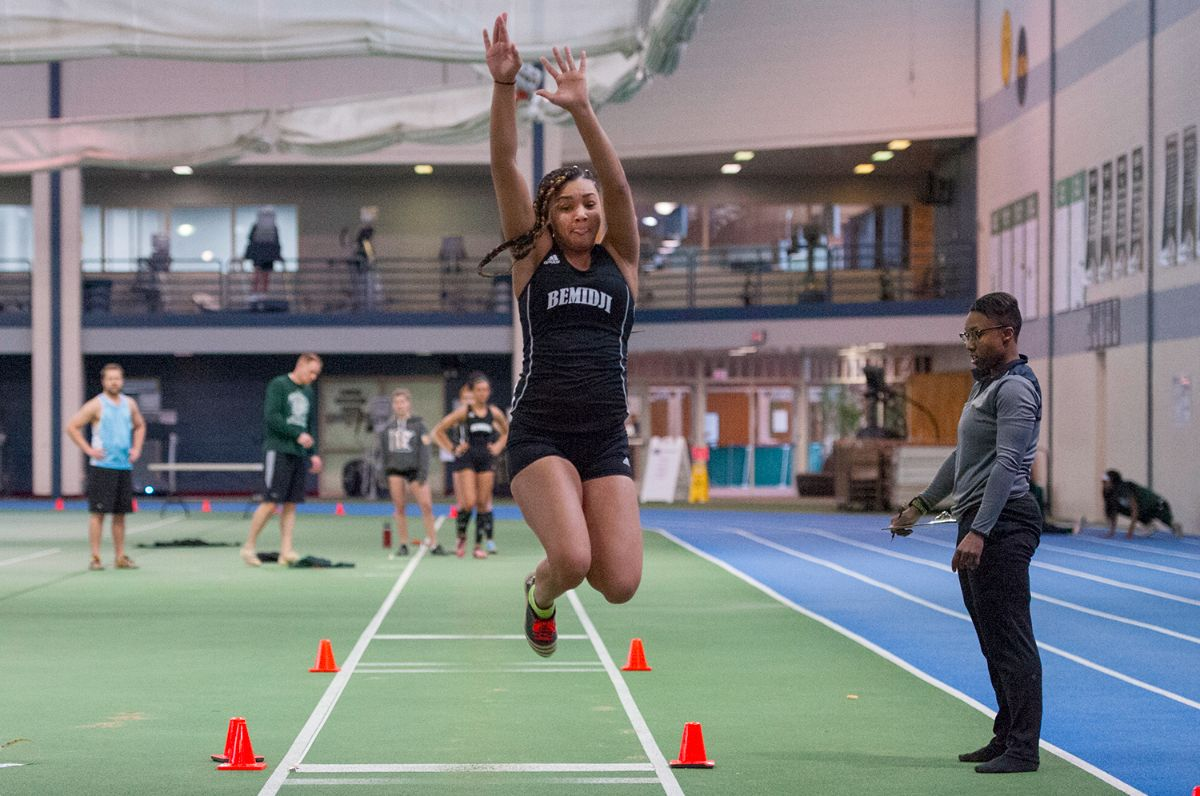 Four top 10 records set as Track & Field completes NSIC Indoor Challenge