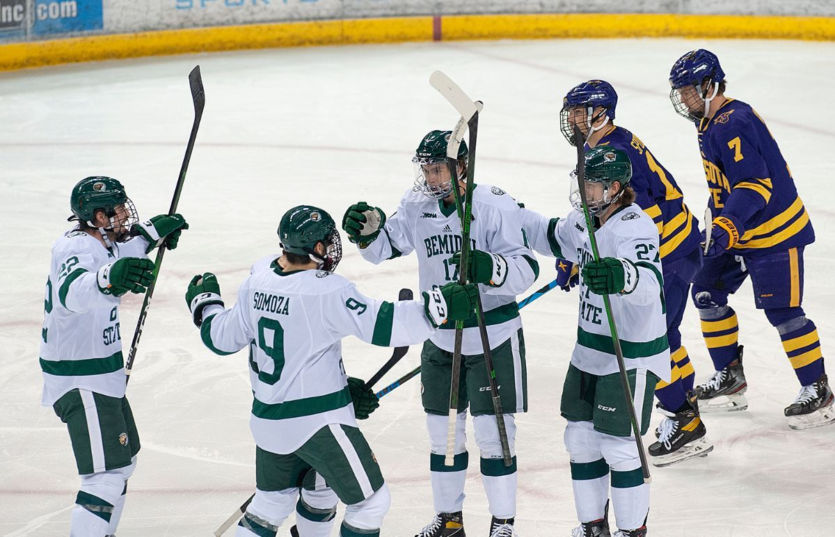 Armour, Beavers edge No. 3 Minnesota State in overtime, 4-3