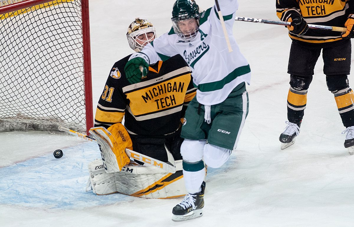 Bemidji State opens WCHA best-of-three with 3-1 victory over Michigan Tech