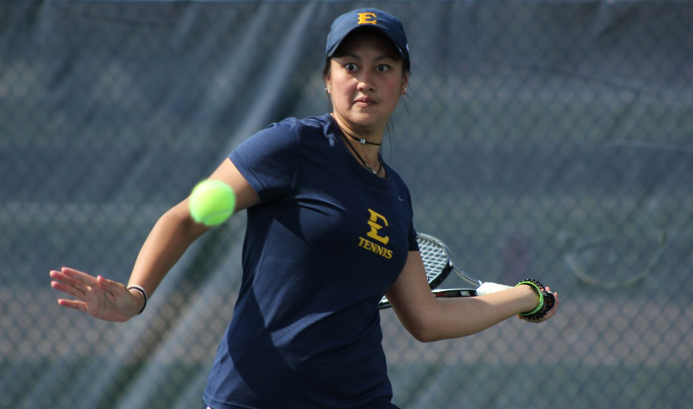 Women's Tennis improves to 9-0 with 6-1 win at Elon