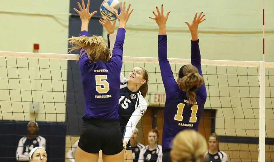 Volleyball knocks off Alabama State, 3-1