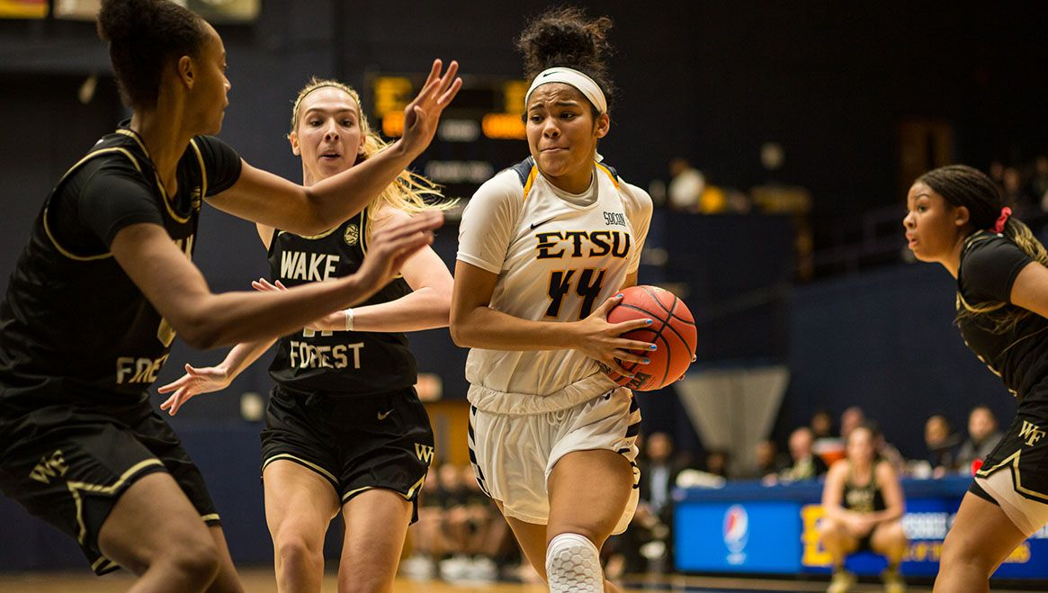 Bucs Leave Demon Deacons in Their Wake in 67-60 Win