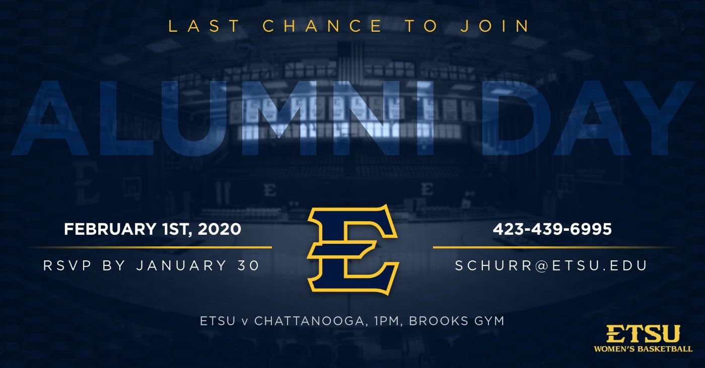 All Former ETSU Women's Basketball Players Invited to Reunion Weekend
