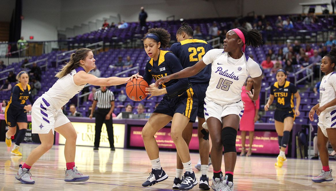 Paladin Offense Upends Bucs in Conference Action