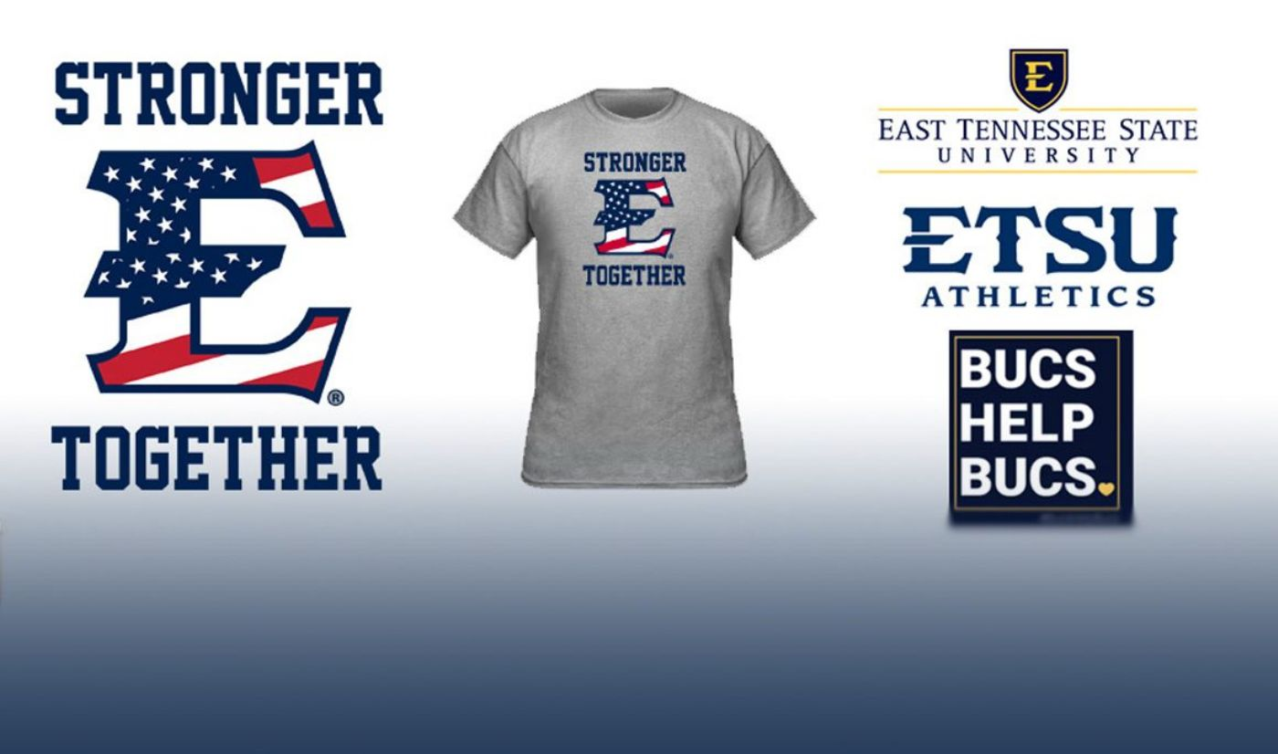 ETSU Stronger Together Shirts Available to Support Bucs Help Bucs Initiative
