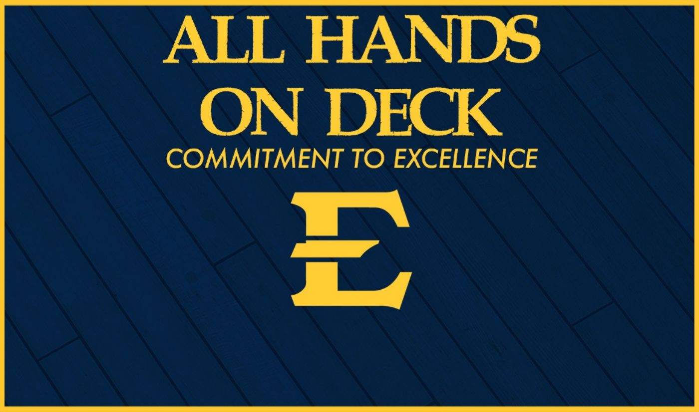 ETSU Athletics Announces All Hands on Deck Commitment to Excellence Initiative