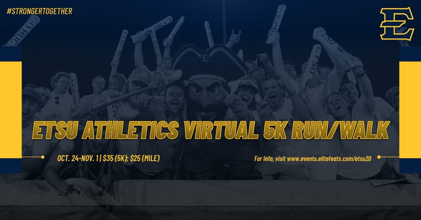 ETSU Athletics to hold Virtual 5K Run/Walk