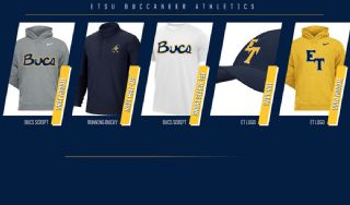 ETSU Athletics Launches Limited Time Online Shop Featuring Throwback Logos