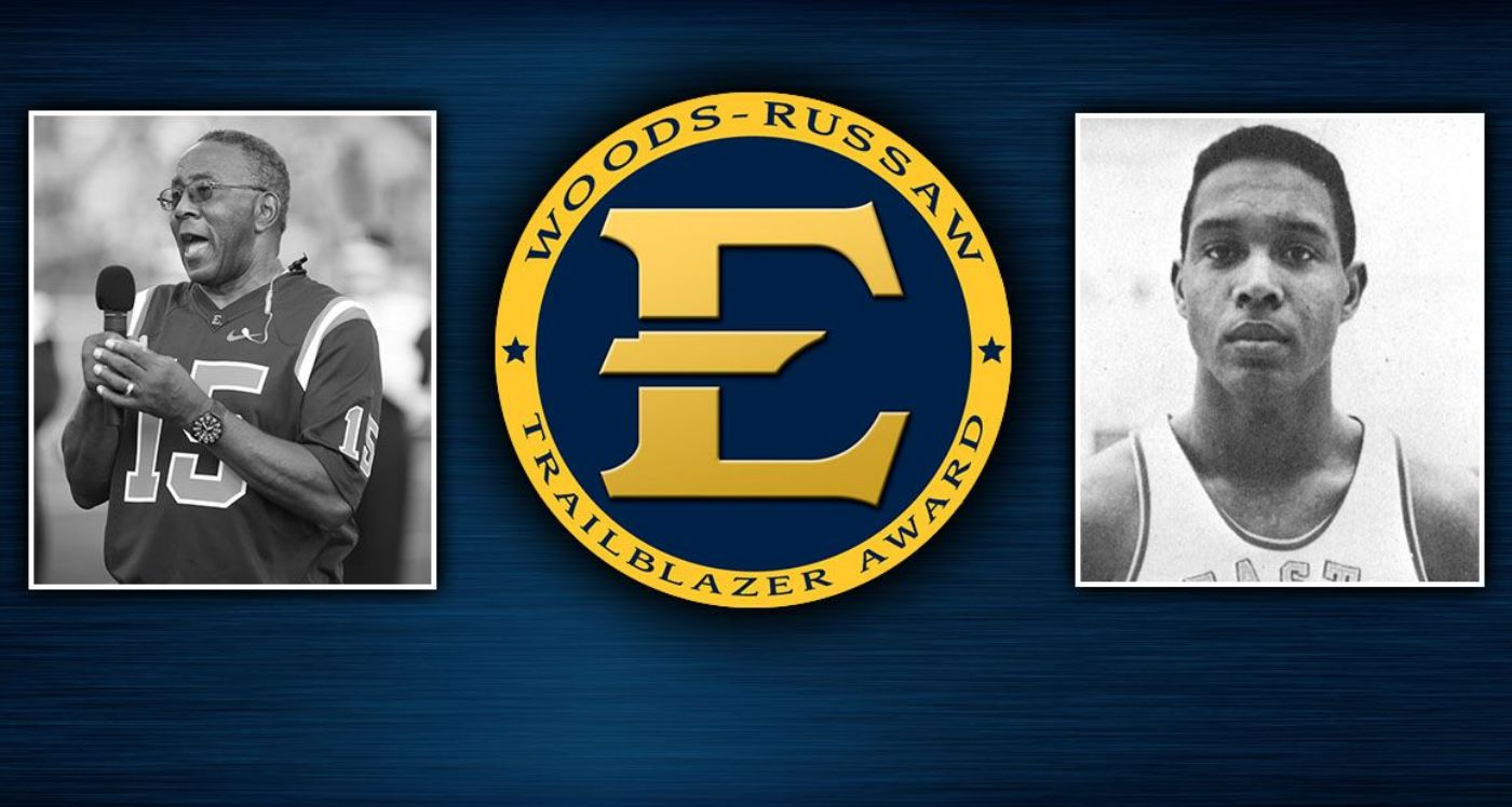 ETSU also unveiled the Woods-Russaw Trailblazer Award in honor of Tommy Woods (men's basketball) and Johnny Russaw (football).