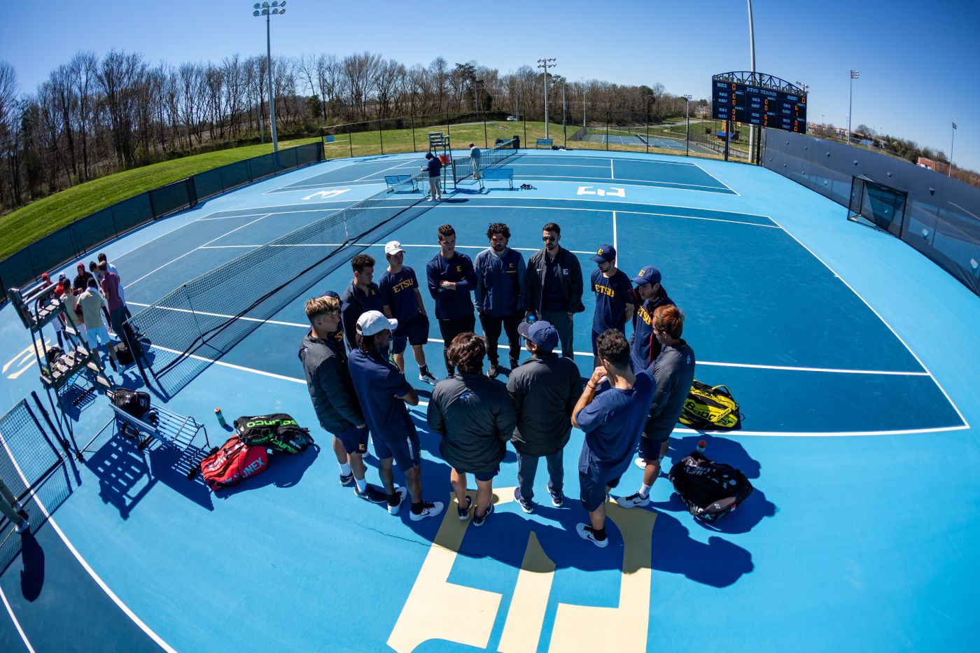 Bucs Conclude Play at ITA Regionals