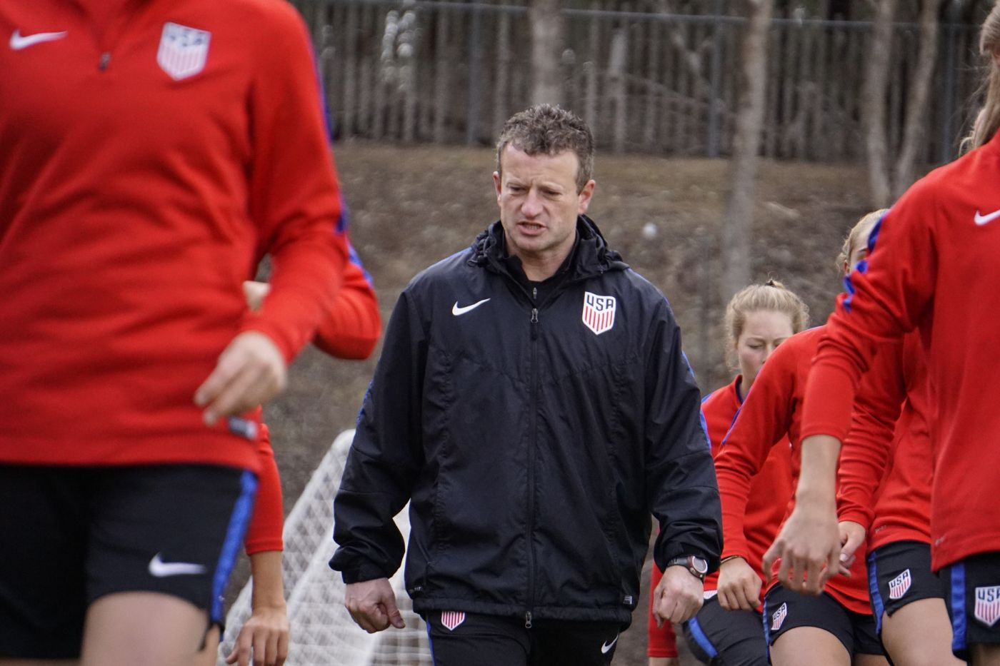 Sayers Back Again With U.S. National Team