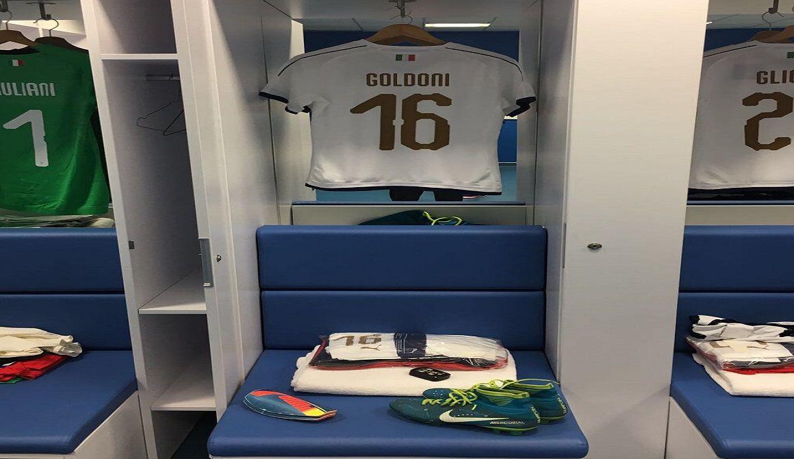Goldoni Named to Italian Senior National Team