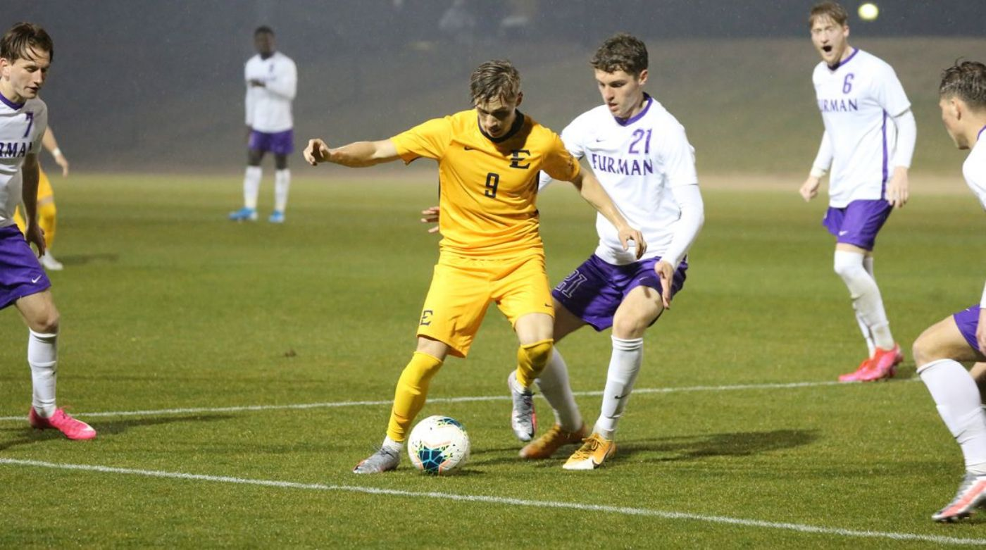Paladins Edge Bucs in 2-1 Double Overtime Showdown