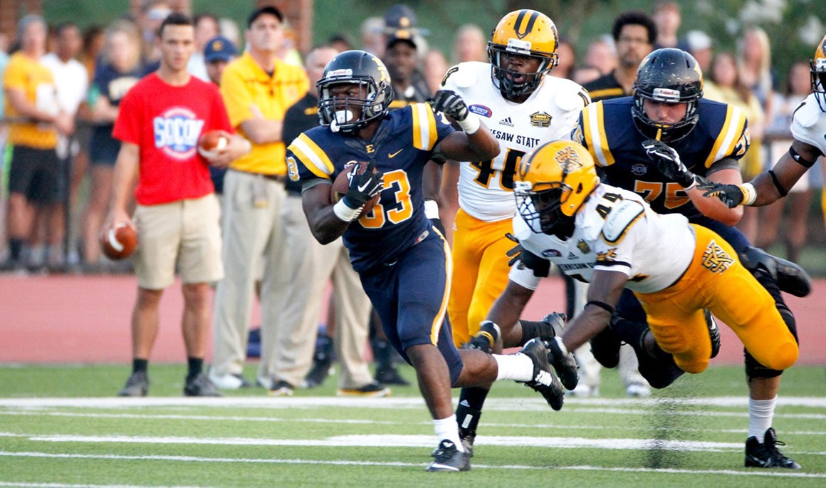 Bucs gear up for Homecoming game vs. Emory & Henry