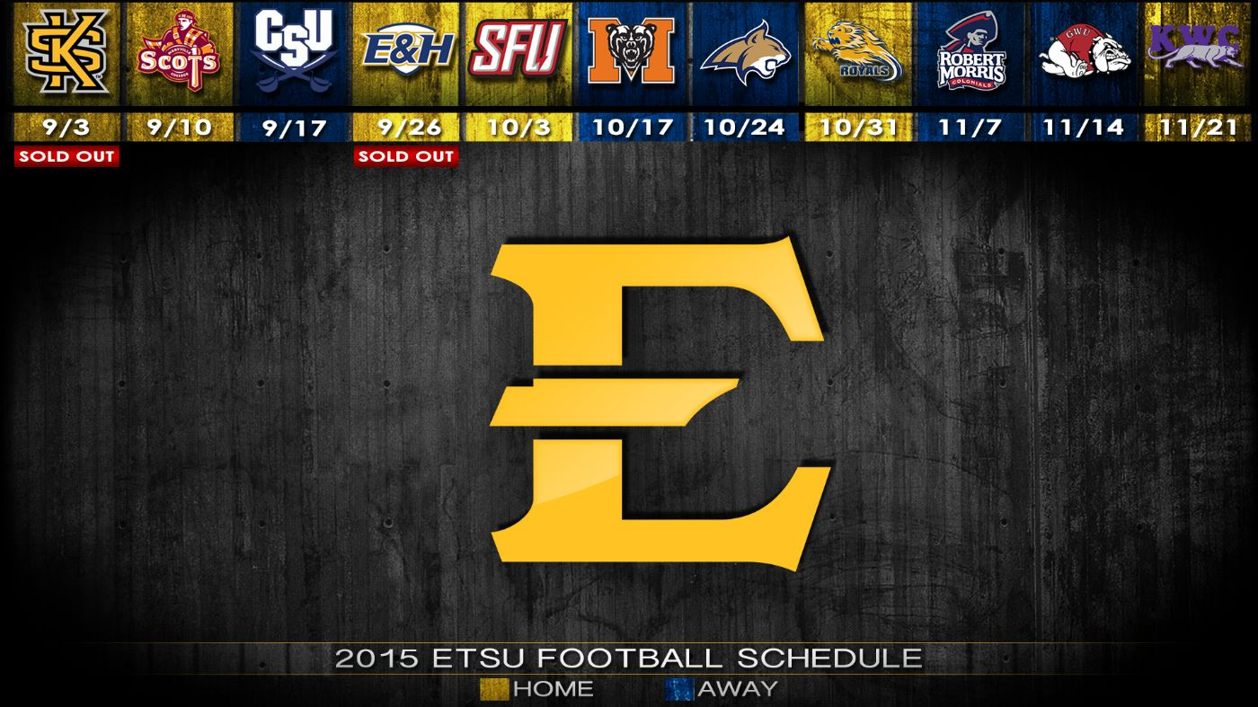 ETSU football opener, Homecoming sellout in minutes