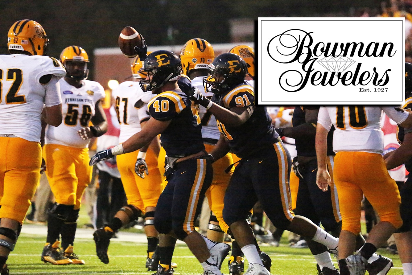 Football releases Bowman Jewelers Player of the Game awards