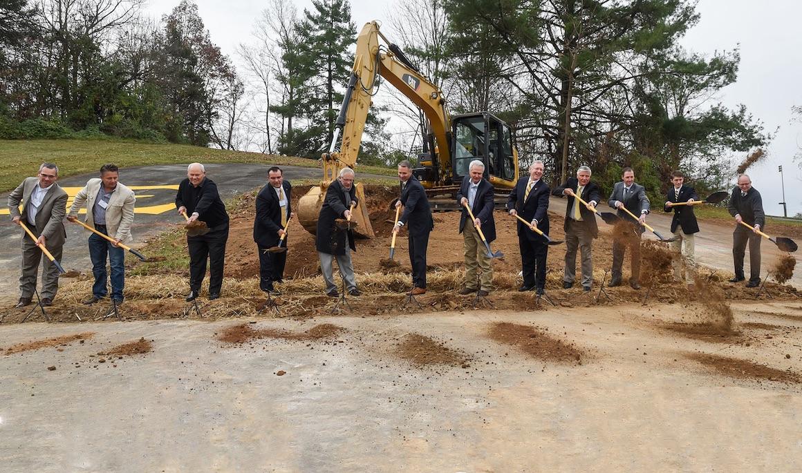 Ceremony marks start of ETSU football stadium project