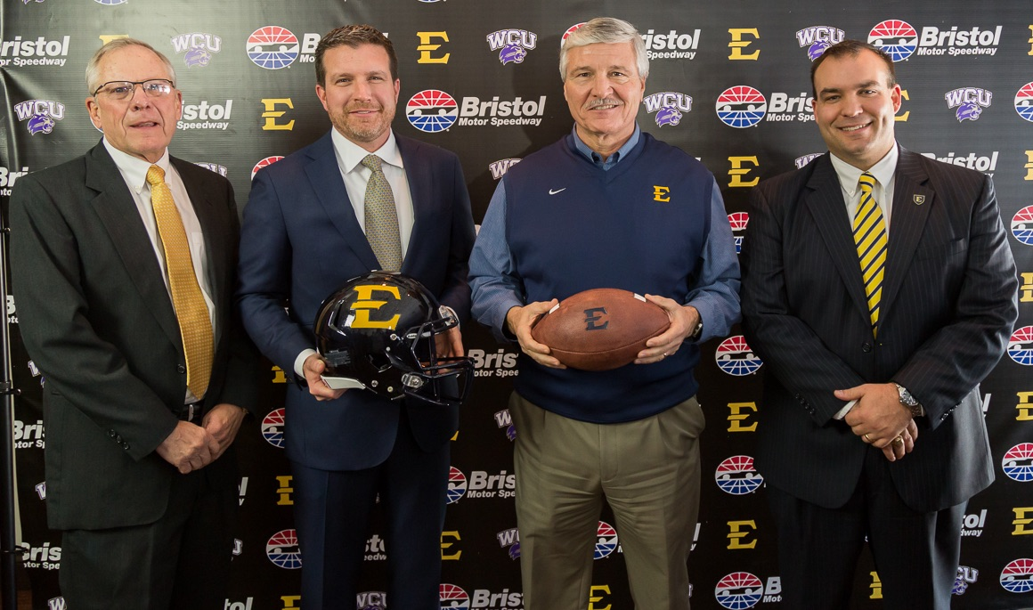 ETSU football to play Western Carolina at Bristol Motor Speedway