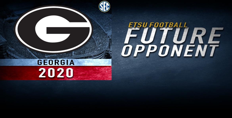 ETSU football to play Georgia in 2020
