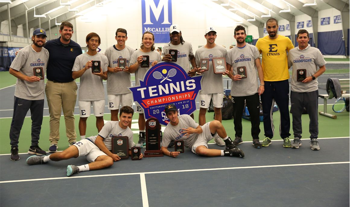 SoCon Champs! ETSU men's tennis claims 12th straight conference title