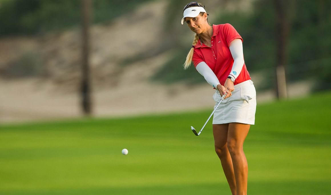 Former Buc Jansone in top-4 after first round at Omega Dubai Ladies Masters