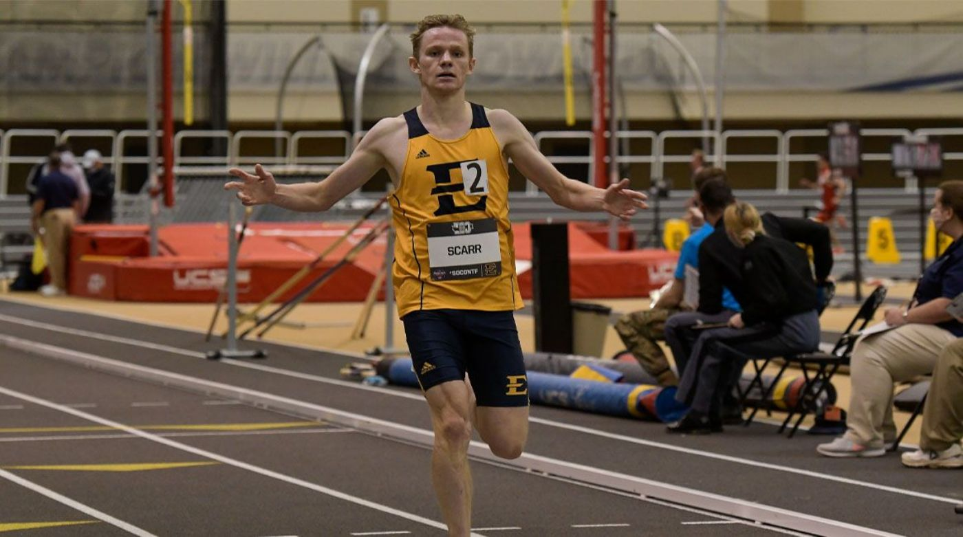 Bucs Primed for Second Day Push at SoCon Indoor Championships