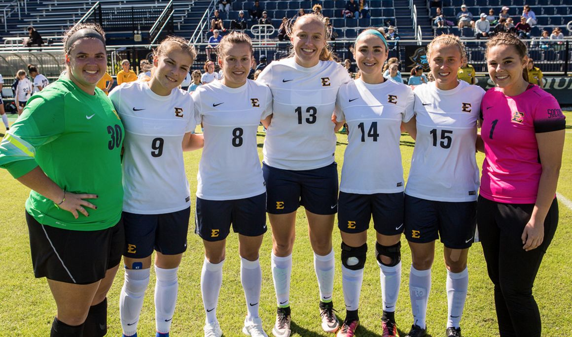 Women's Soccer celebrates Senior Day with 3-0 victory