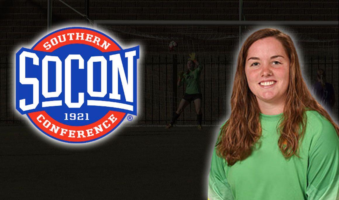 LeaAnn Cutshall named SoCon Player of the Week