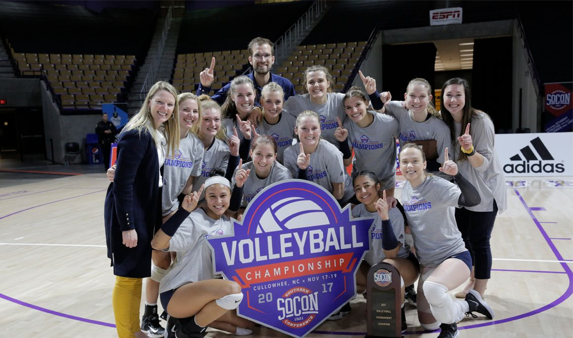 SoCon Champs! ETSU sweeps Wofford in Volleyball Championship