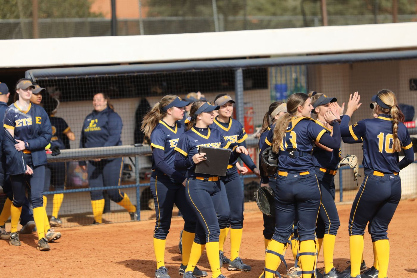 ETSU Bats Come Alive in Sunday Sweep