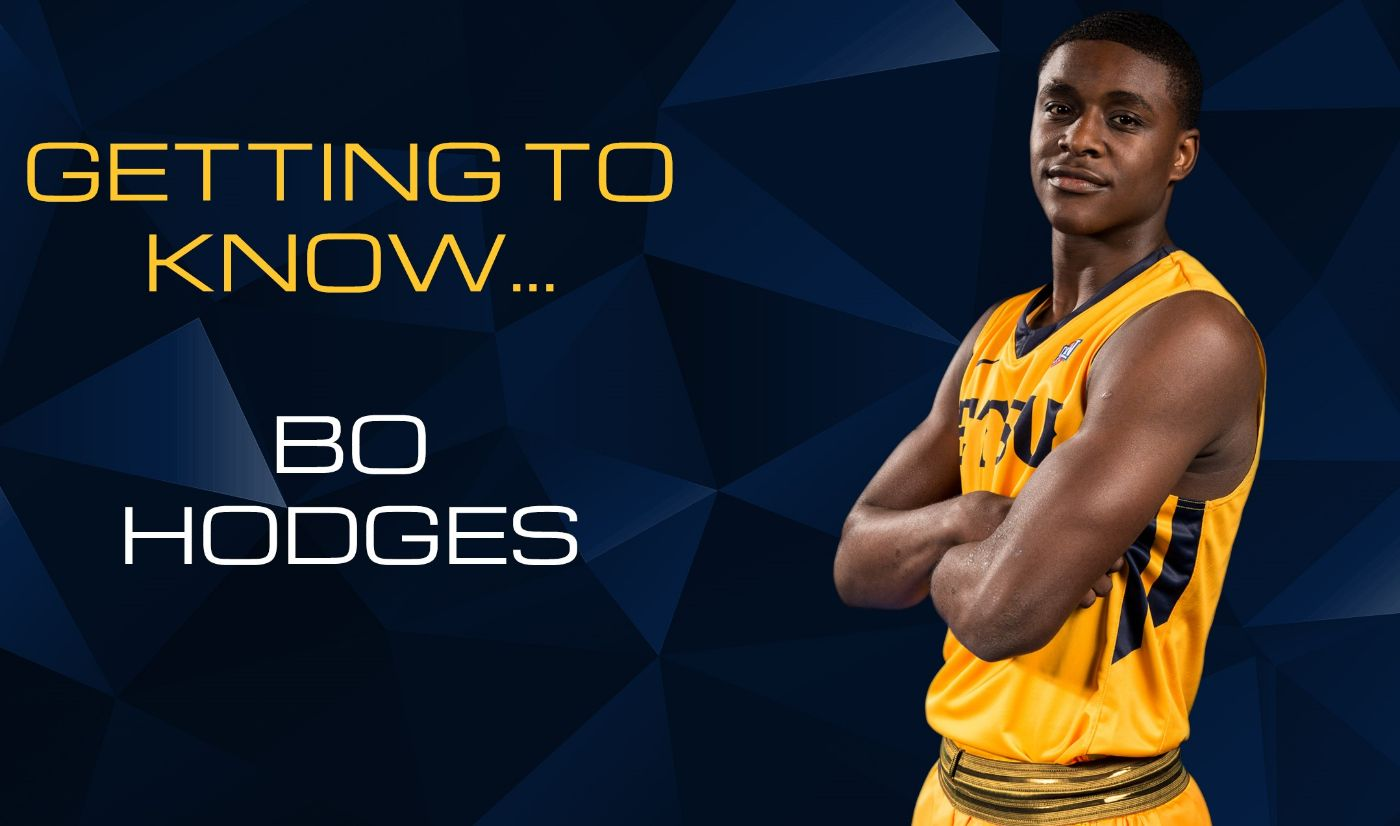 Getting to Know: Bo Hodges