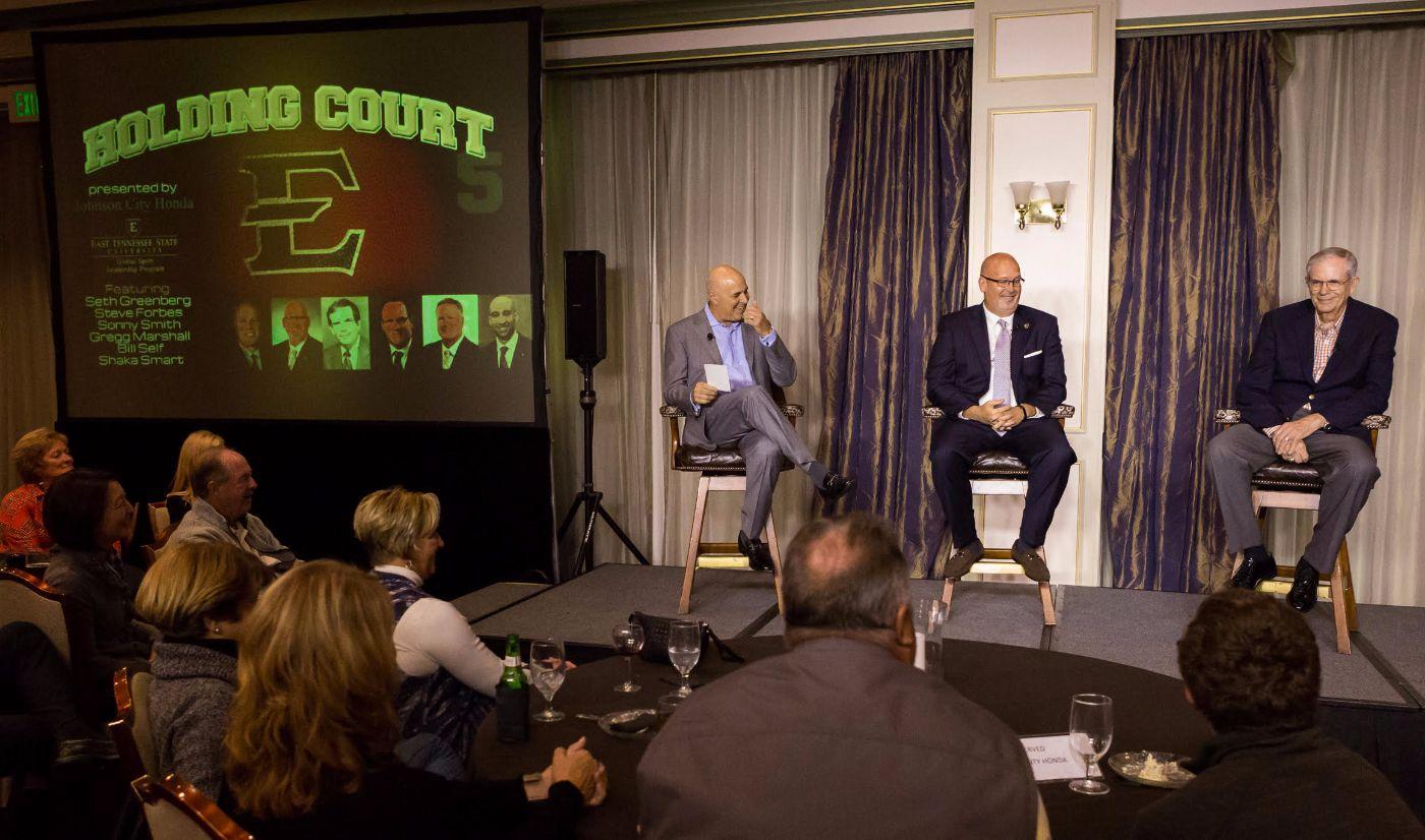 ETSU fans enjoy star-studded panel at Holding Court event