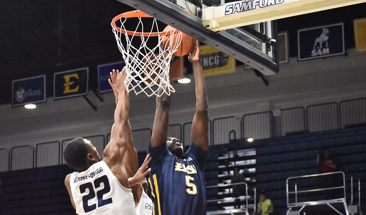Efficient offense helps Bucs cruise past Samford, 90-72