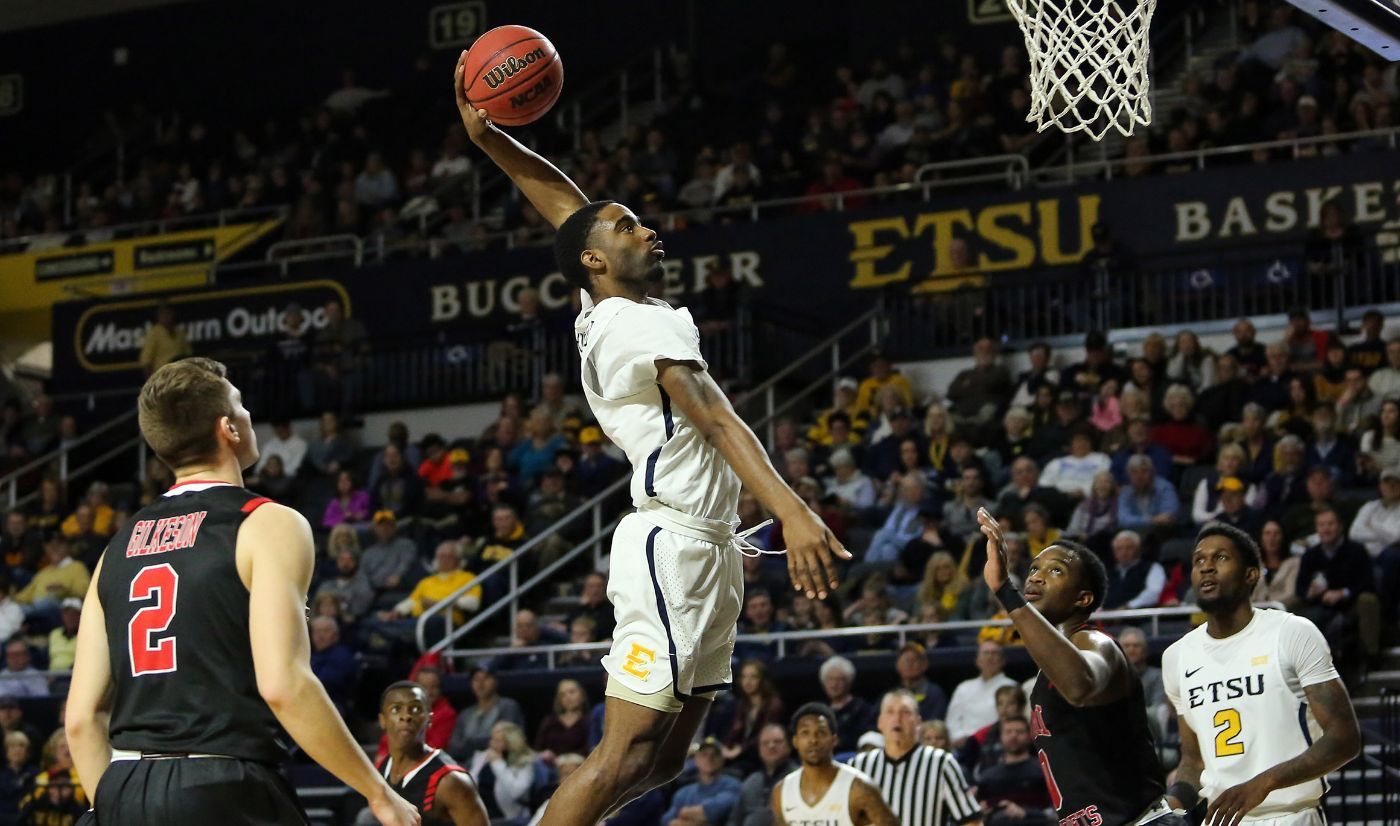 Bradford named January's SoCon Player of the Month
