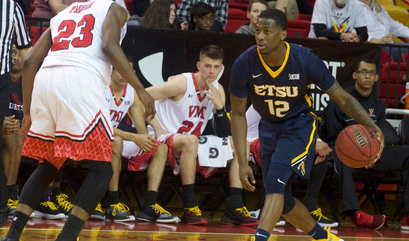 McCloud's 20 powers Bucs to historic win; 70-56 over VMI