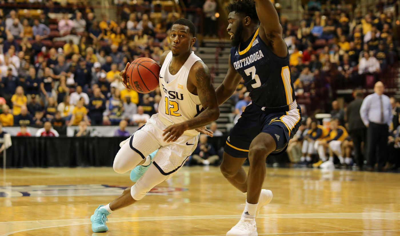 Bucs race past rival Mocs 77-59 in SoCon quarterfinal