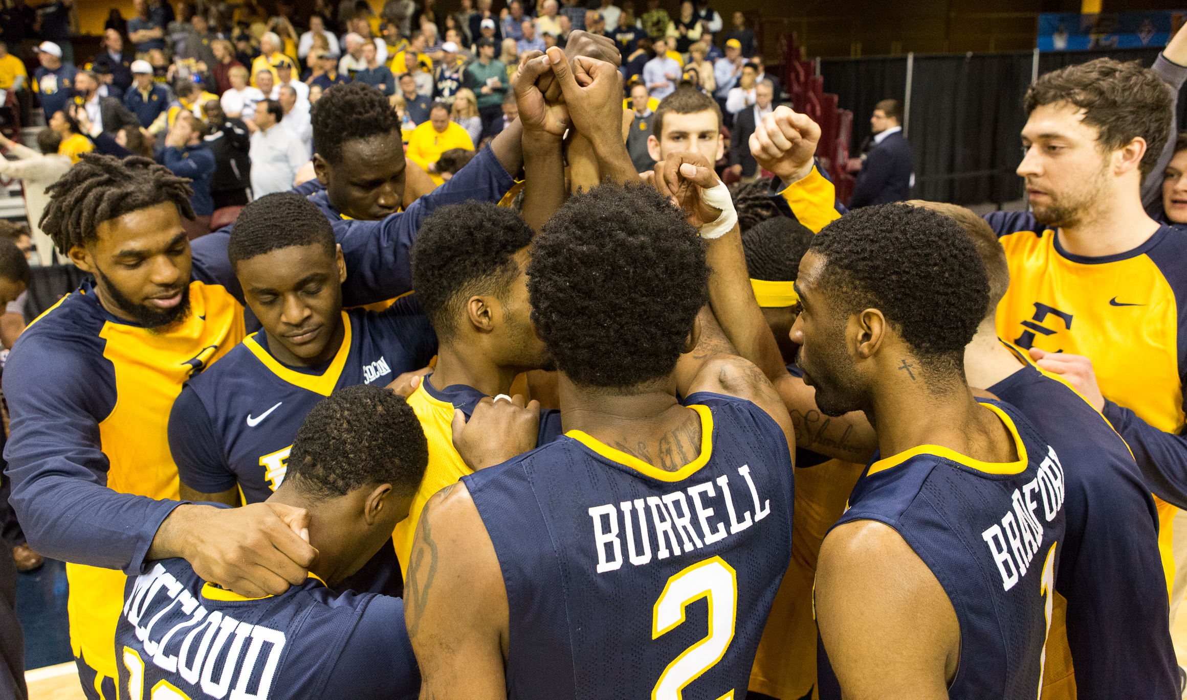 Bucs unable to best UNCG; fall in SoCon final, 62-47