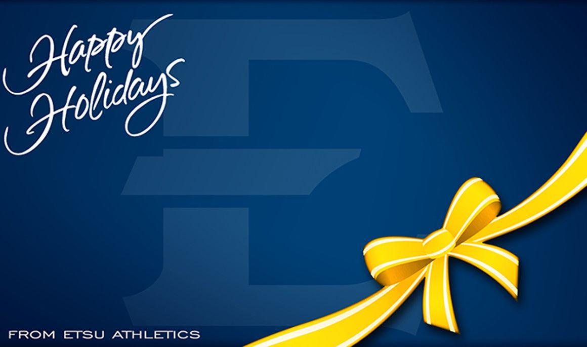 Happy Holidays from ETSU Athletics