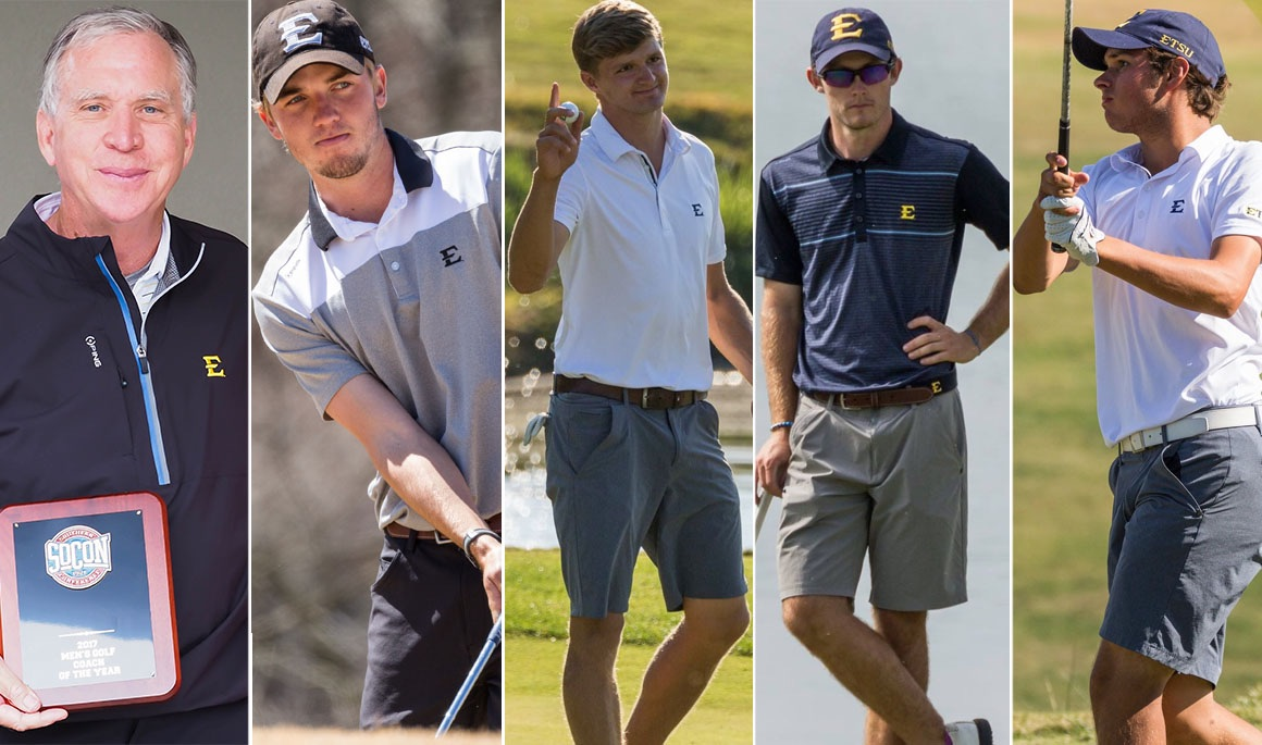 Five Bucs earn postseason honors; Warren tabbed Coach of the Year