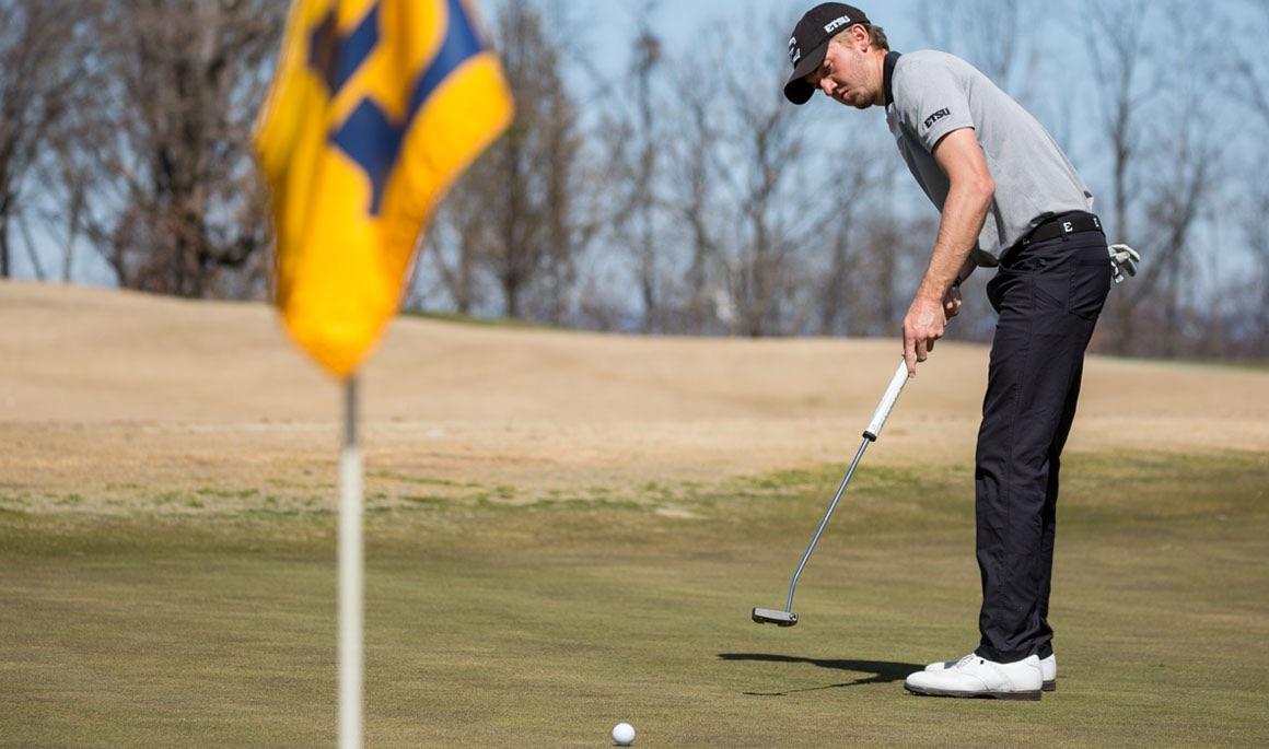 ETSU men's golf wraps up second round play at NCAA Regional