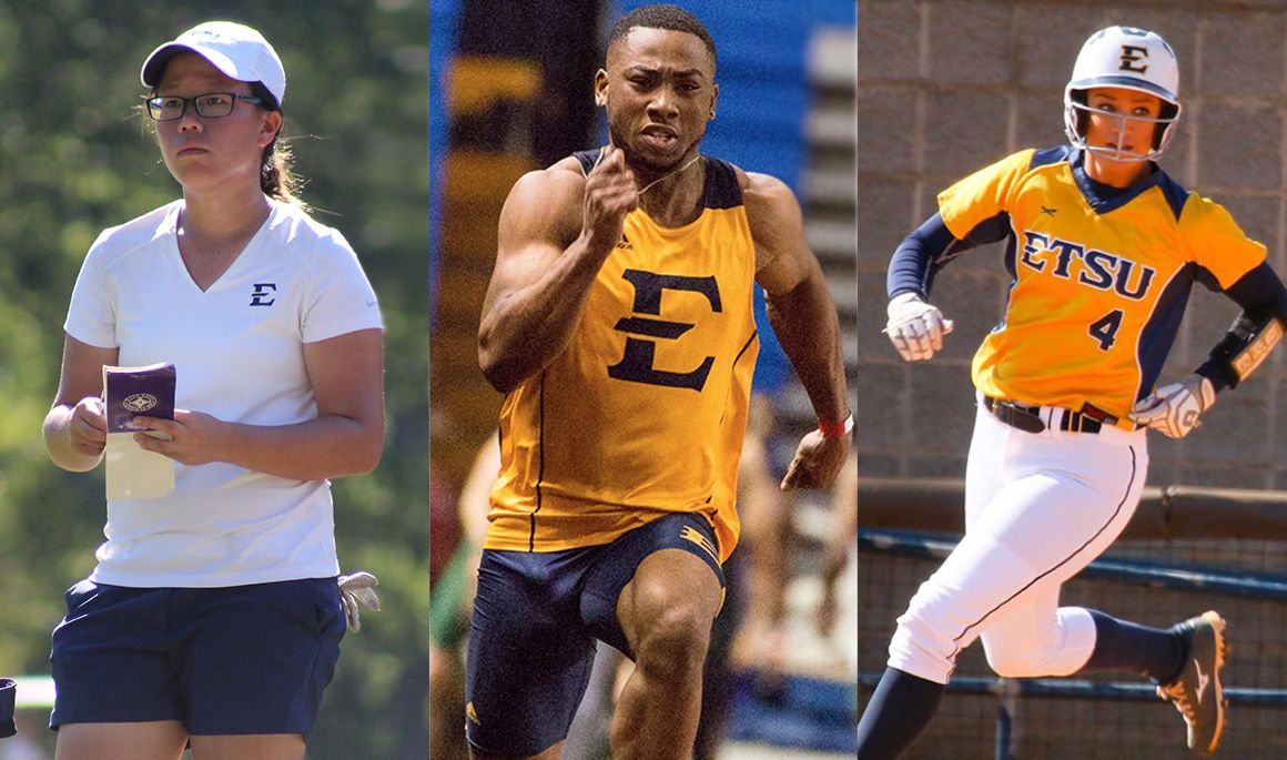 Three Bucs named SoCon Athletes of the Month